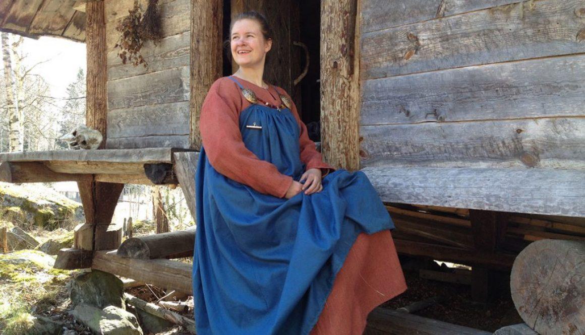 Om tankar kring en vikingadräkt