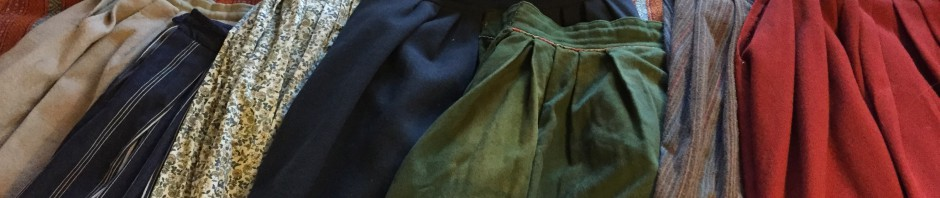 Veckade kjolar
